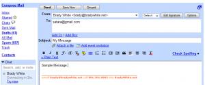 gmail signatures